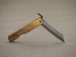 Jaoan Messer Taschenmesser Messing Klappmesser